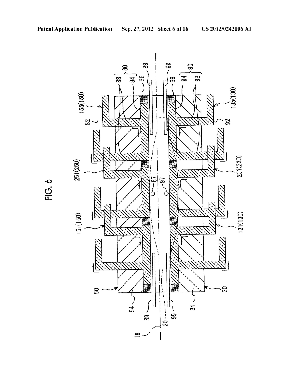 INJECTION MOLDING APPARATUS AND METHOD FOR MANUFACTURING LONG MOLDED     ARTICLE - diagram, schematic, and image 07