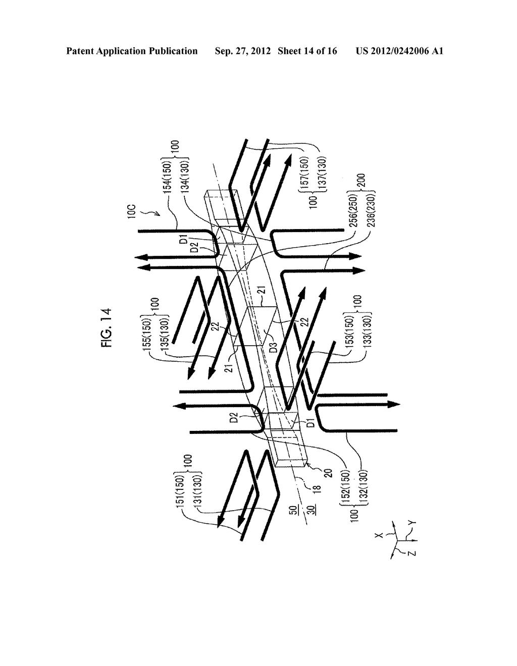 INJECTION MOLDING APPARATUS AND METHOD FOR MANUFACTURING LONG MOLDED     ARTICLE - diagram, schematic, and image 15