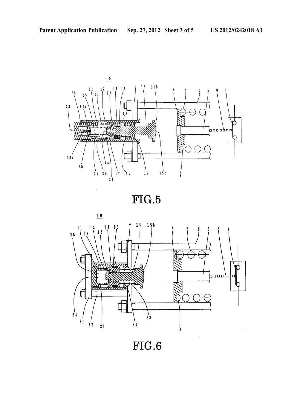 BUFFERING DEVICE FOR THE OPERATING MECHANISM OF A SWITCHGEAR, AND METHOD     OF LUBRICATION THEREOF - diagram, schematic, and image 04