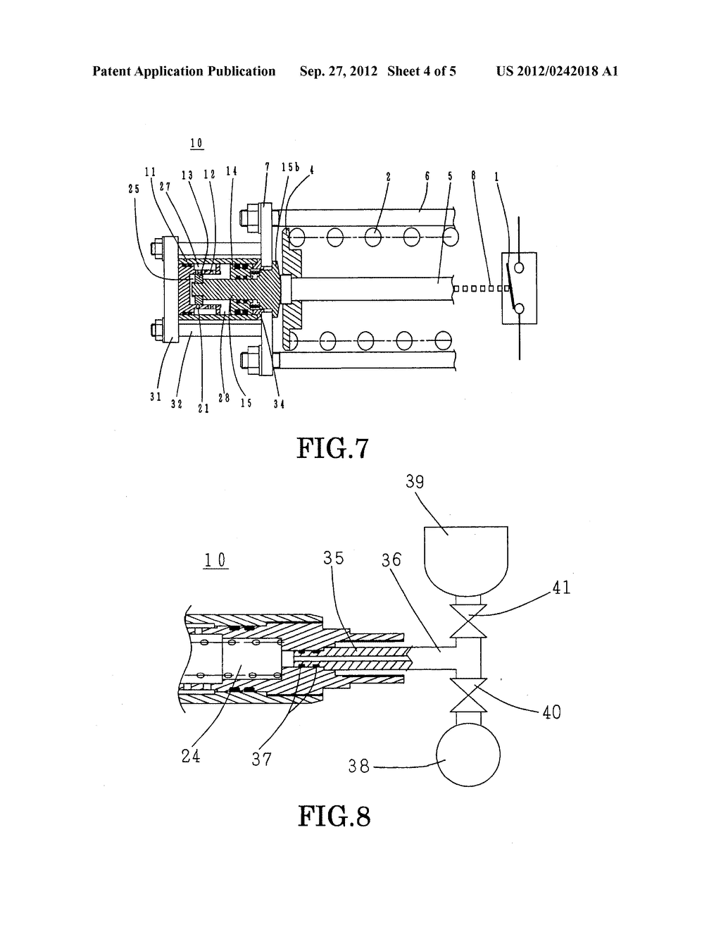 BUFFERING DEVICE FOR THE OPERATING MECHANISM OF A SWITCHGEAR, AND METHOD     OF LUBRICATION THEREOF - diagram, schematic, and image 05