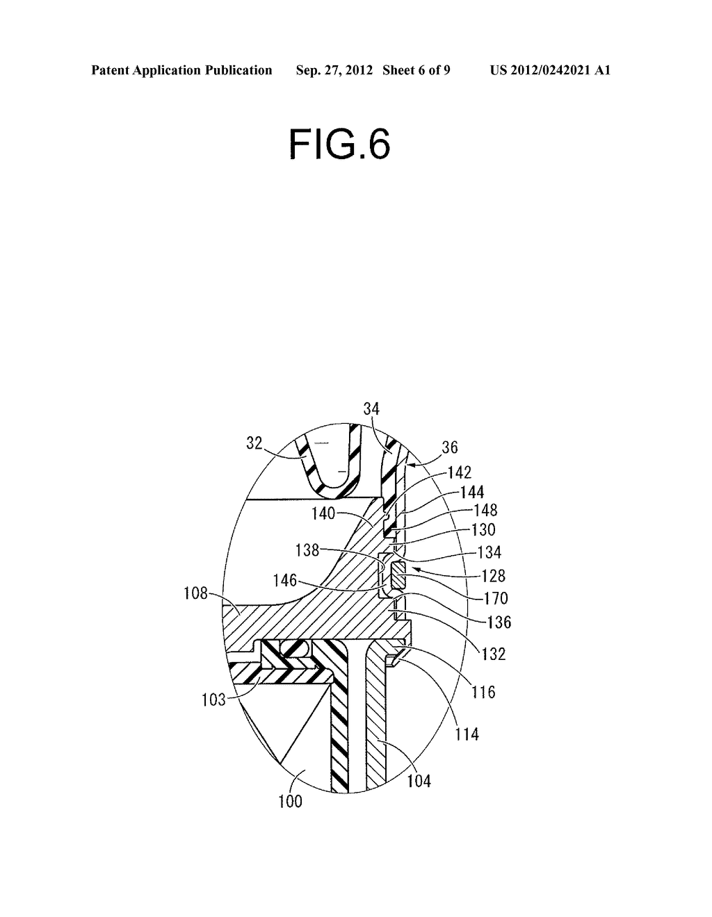 FLUID-FILLED TYPE VIBRATION DAMPING DEVICE AND MANUFACTURING METHOD     THEREOF - diagram, schematic, and image 07