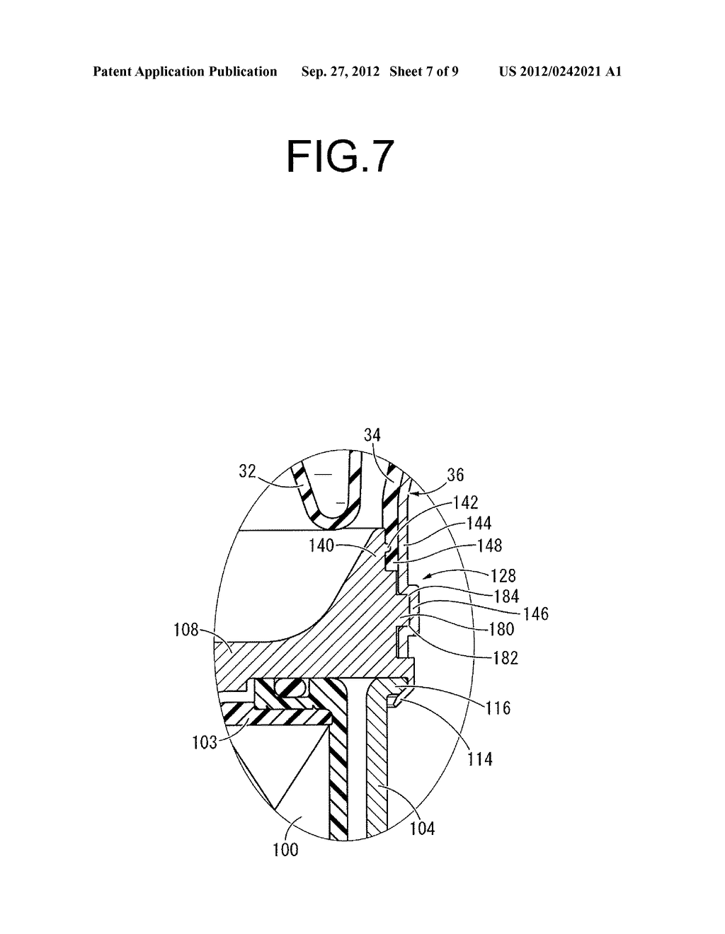 FLUID-FILLED TYPE VIBRATION DAMPING DEVICE AND MANUFACTURING METHOD     THEREOF - diagram, schematic, and image 08