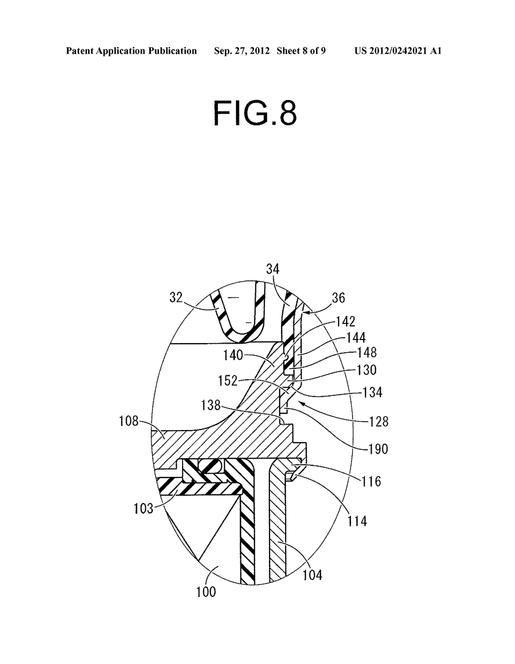FLUID-FILLED TYPE VIBRATION DAMPING DEVICE AND MANUFACTURING METHOD     THEREOF - diagram, schematic, and image 09