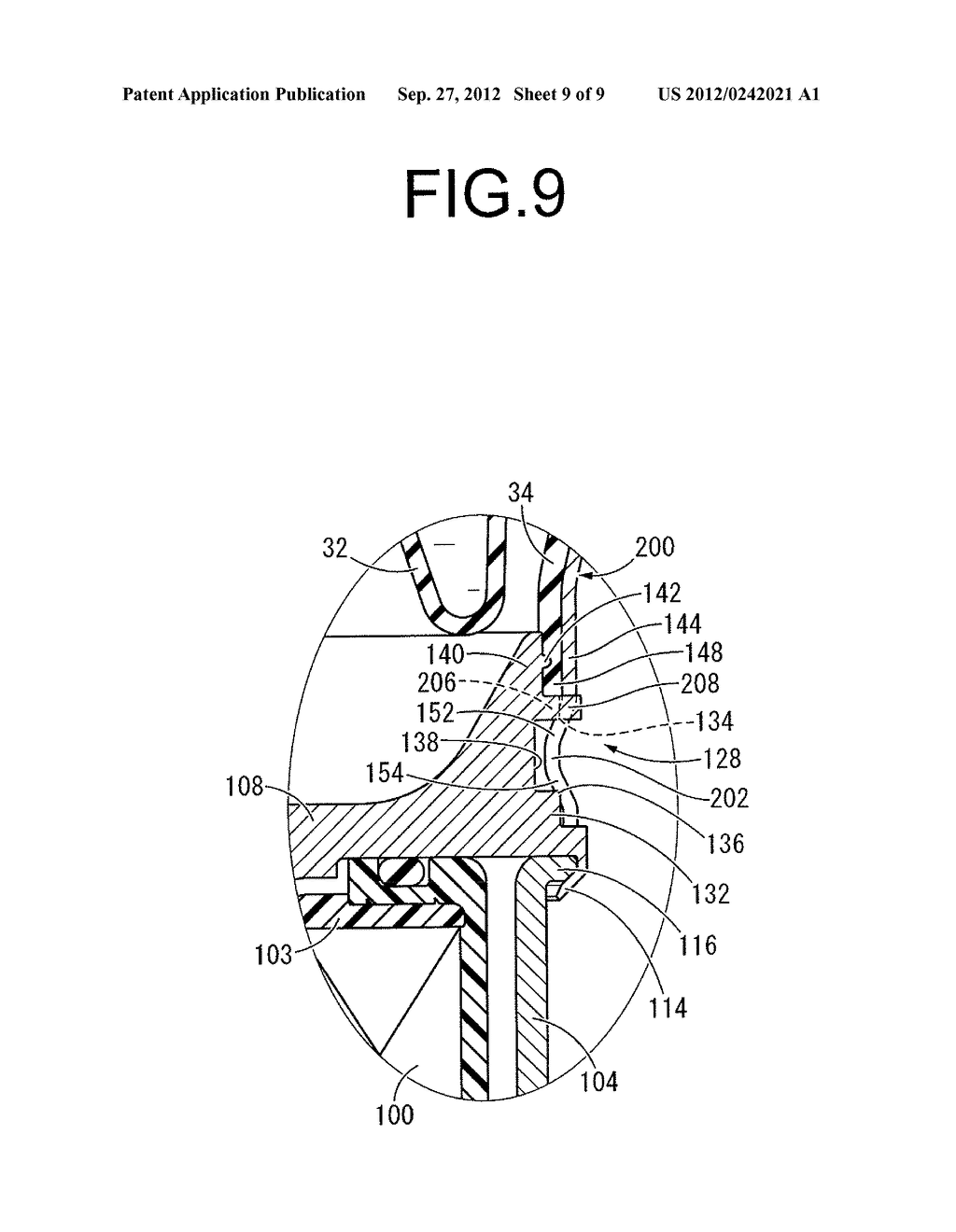 FLUID-FILLED TYPE VIBRATION DAMPING DEVICE AND MANUFACTURING METHOD     THEREOF - diagram, schematic, and image 10