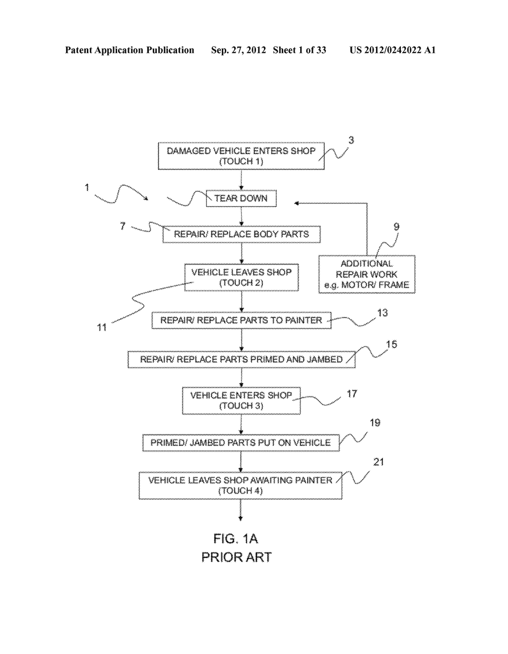 METHOD AND APPARATUS FOR VEHICLE REPAIR AND PAINTING - diagram, schematic, and image 02