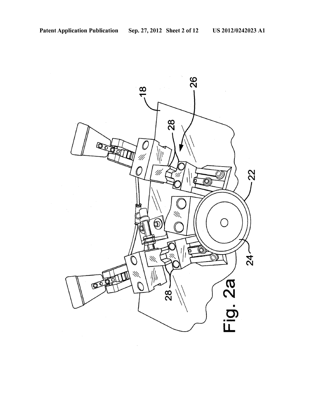DECORATIVE TRIM ASSEMBLY FIXTURE AND METHOD OF USING SAME - diagram, schematic, and image 03
