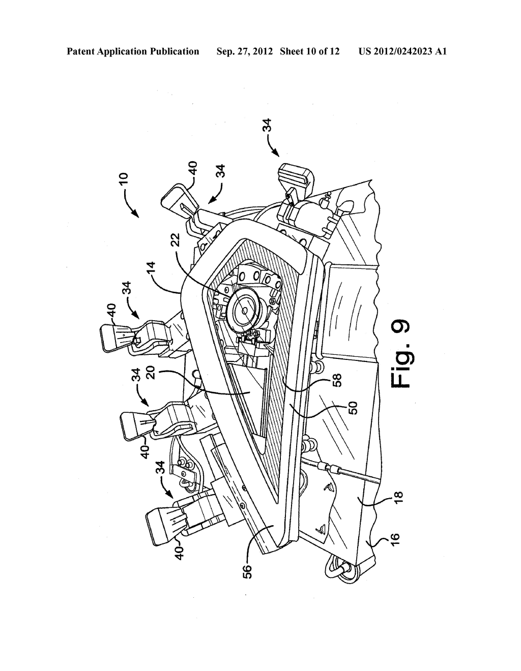 DECORATIVE TRIM ASSEMBLY FIXTURE AND METHOD OF USING SAME - diagram, schematic, and image 11