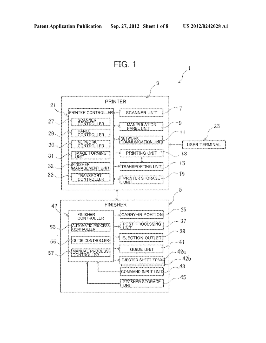SHEET POST-PROCESSING APPARATUS AND SHEET POST-PROCESSING SYSTEM - diagram, schematic, and image 02