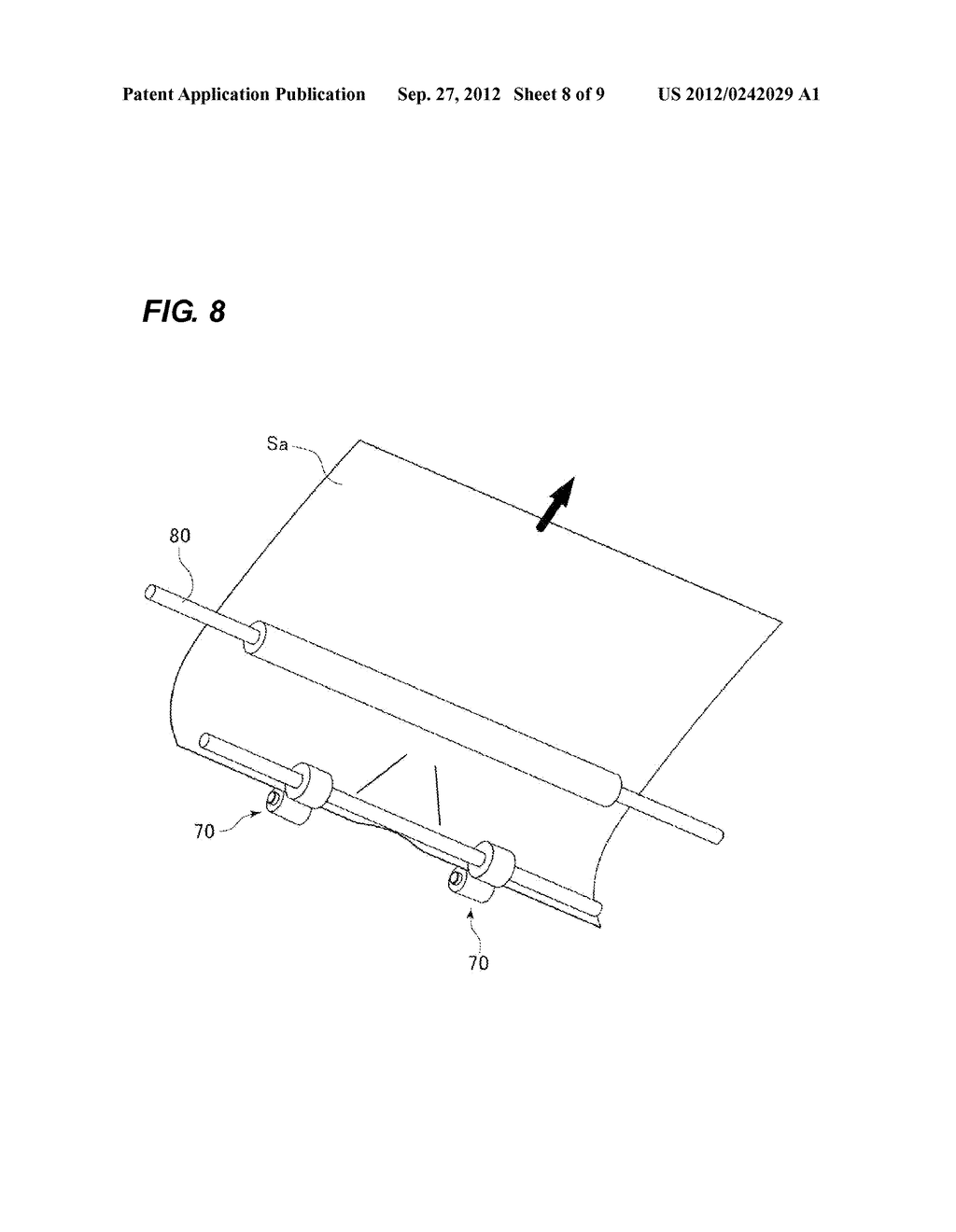 SHEET CONVEYING APPARATUS AND IMAGE FORMING APPARATUS - diagram, schematic, and image 09