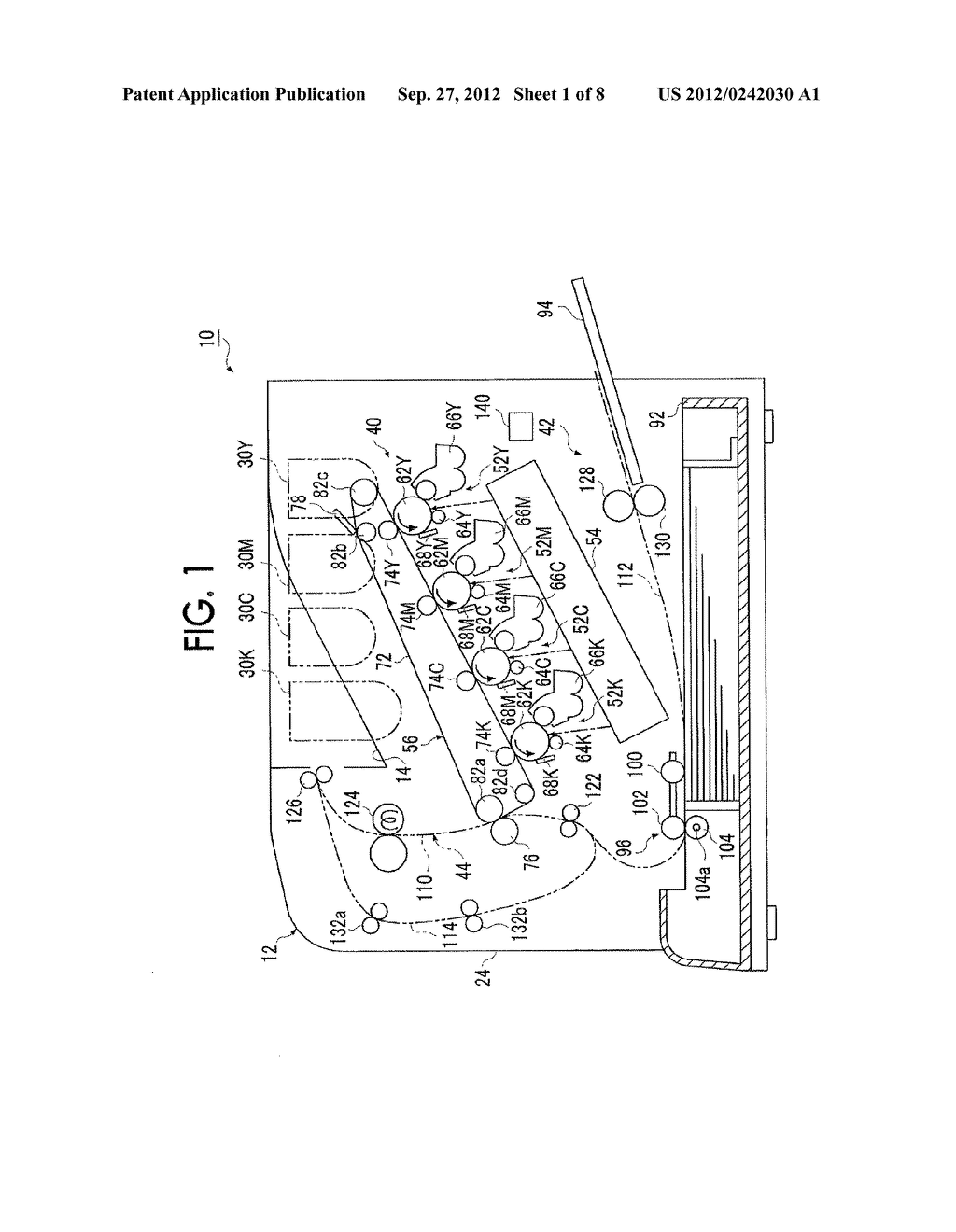 RECORDING MEDIUM FEEDING DEVICE AND IMAGE FORMING APPARATUS - diagram, schematic, and image 02