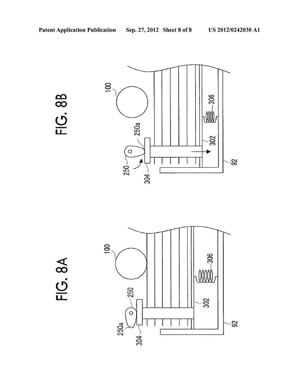 RECORDING MEDIUM FEEDING DEVICE AND IMAGE FORMING APPARATUS - diagram, schematic, and image 09