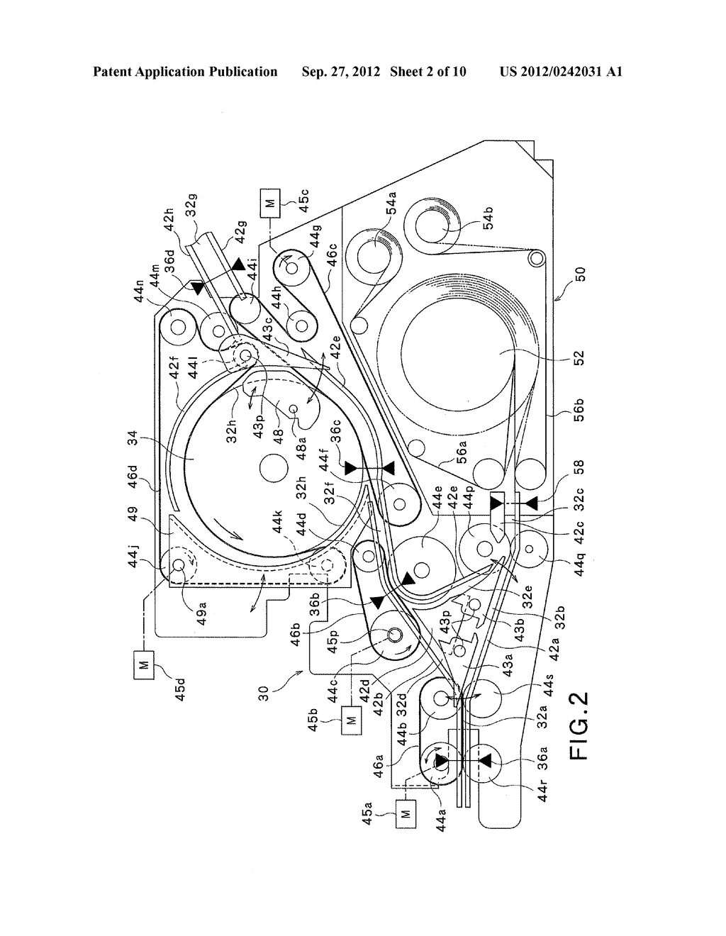PAPER-SHEET HANDLING APPARATUS AND PAPER-SHEET HANDLING METHOD - diagram, schematic, and image 03