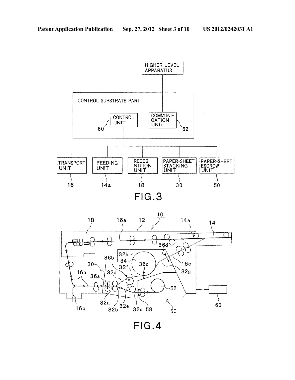 PAPER-SHEET HANDLING APPARATUS AND PAPER-SHEET HANDLING METHOD - diagram, schematic, and image 04