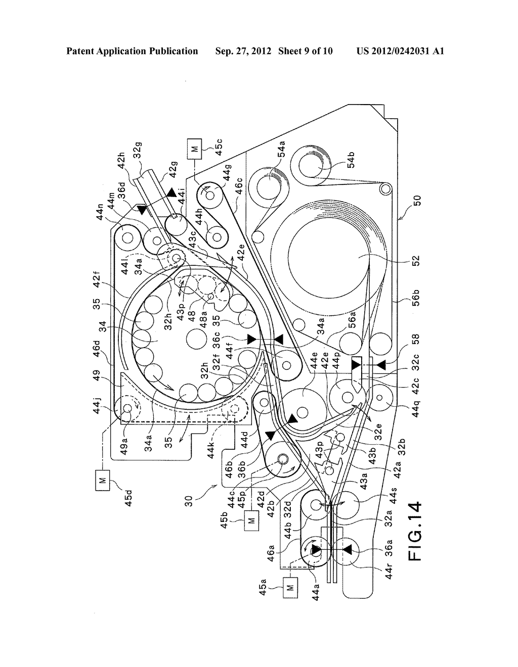 PAPER-SHEET HANDLING APPARATUS AND PAPER-SHEET HANDLING METHOD - diagram, schematic, and image 10
