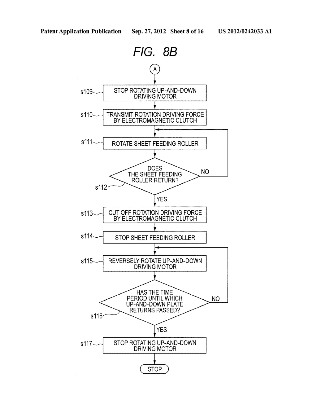 SHEET FEEDING APPARATUS AND IMAGE FORMING APPARATUS - diagram, schematic, and image 09