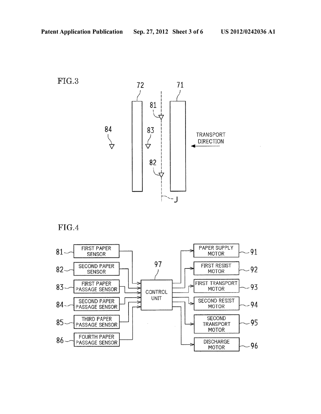 PAPER TRANSPORT DEVICE, DOCUMENT READING APPARATUS PROVIDED WITH THE SAME,     AND IMAGE FORMING APPARATUS PROVIDED WITH THE SAME - diagram, schematic, and image 04