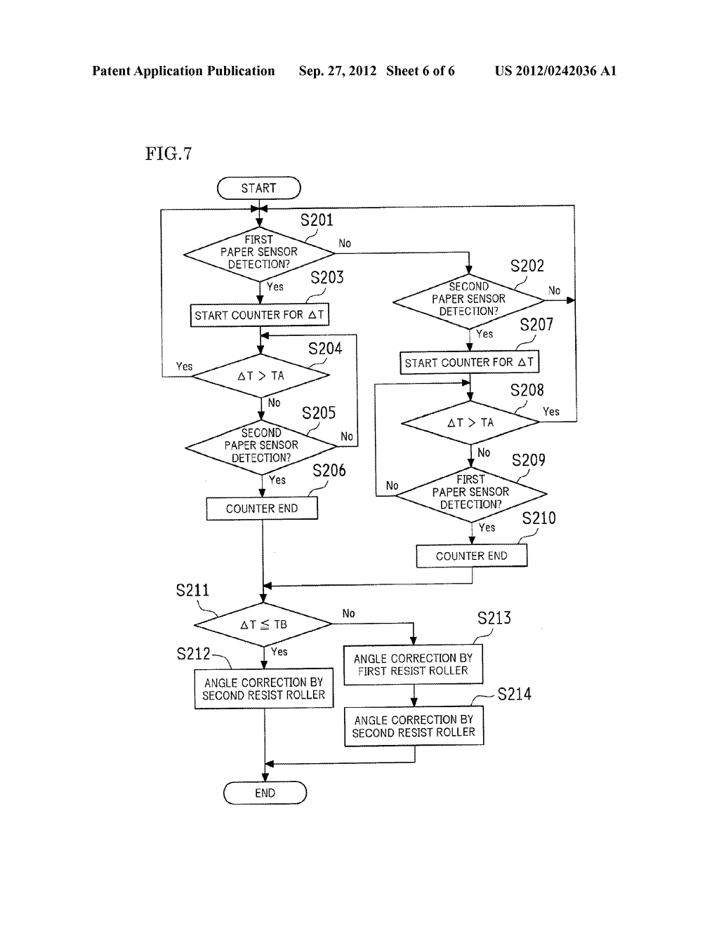PAPER TRANSPORT DEVICE, DOCUMENT READING APPARATUS PROVIDED WITH THE SAME,     AND IMAGE FORMING APPARATUS PROVIDED WITH THE SAME - diagram, schematic, and image 07