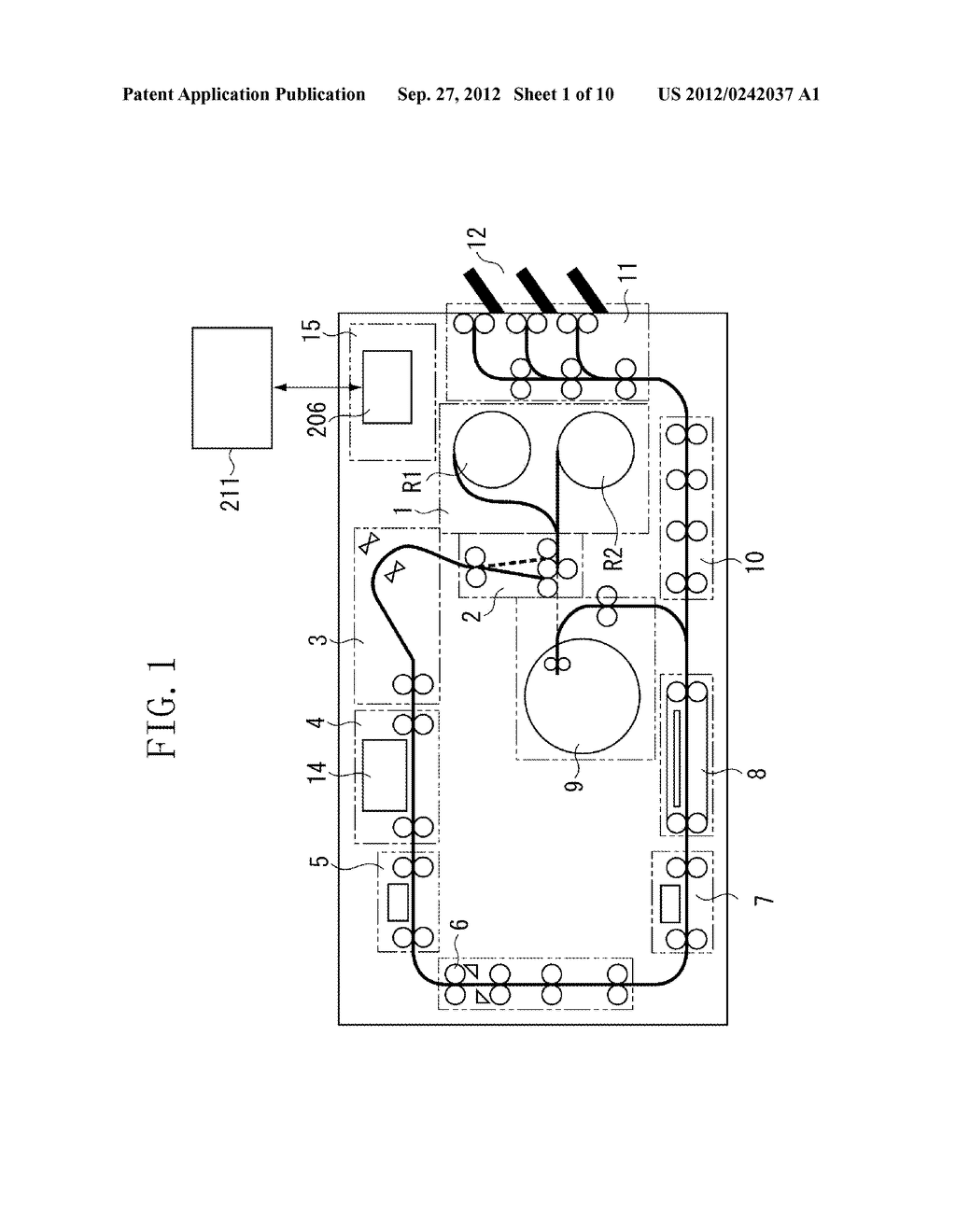 SHEET CONVEYANCE APPARATUS AND PRINTING APPARATUS - diagram, schematic, and image 02