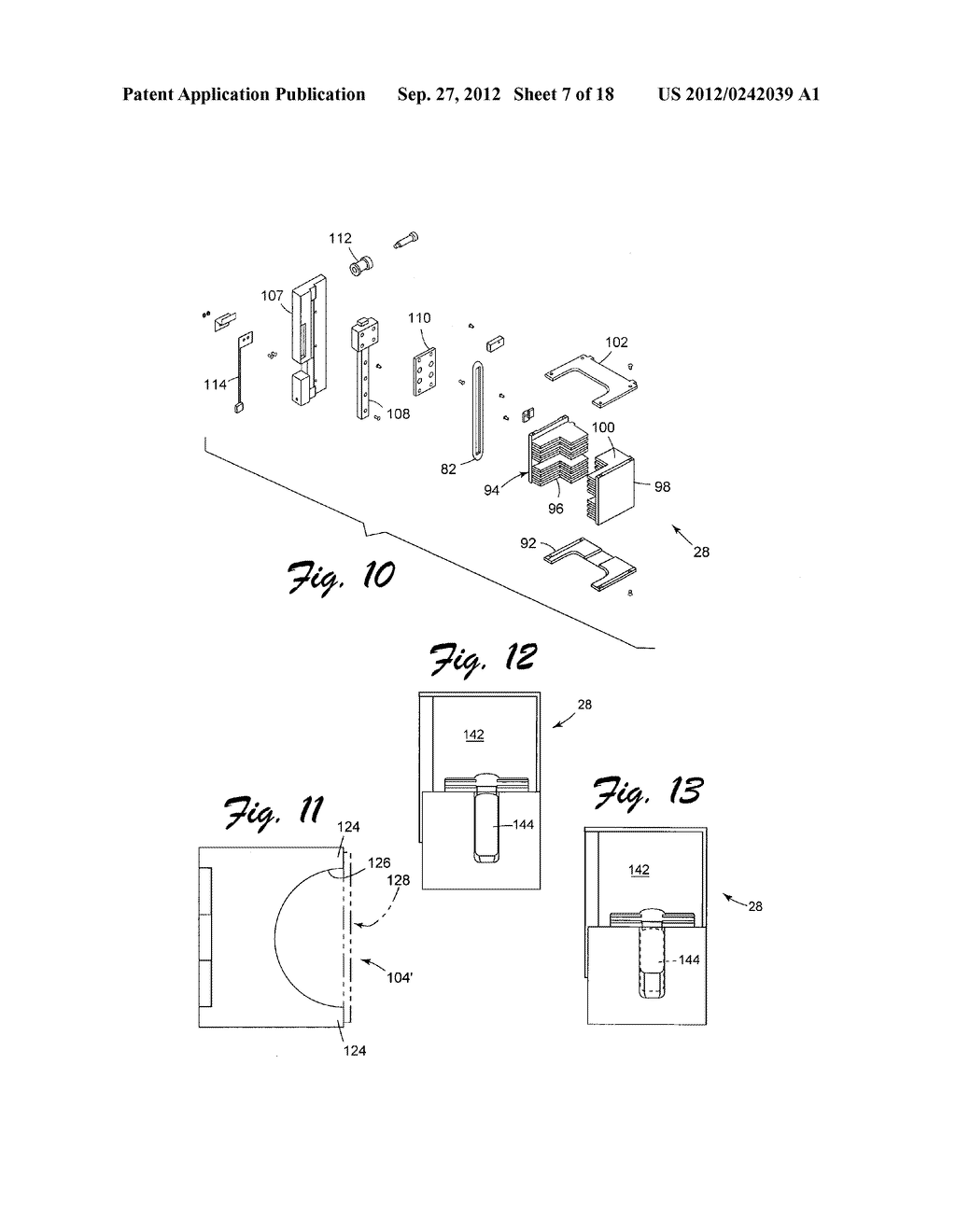 CARD FEED MECHANISM FOR CARD-HANDLING DEVICE - diagram, schematic, and image 08