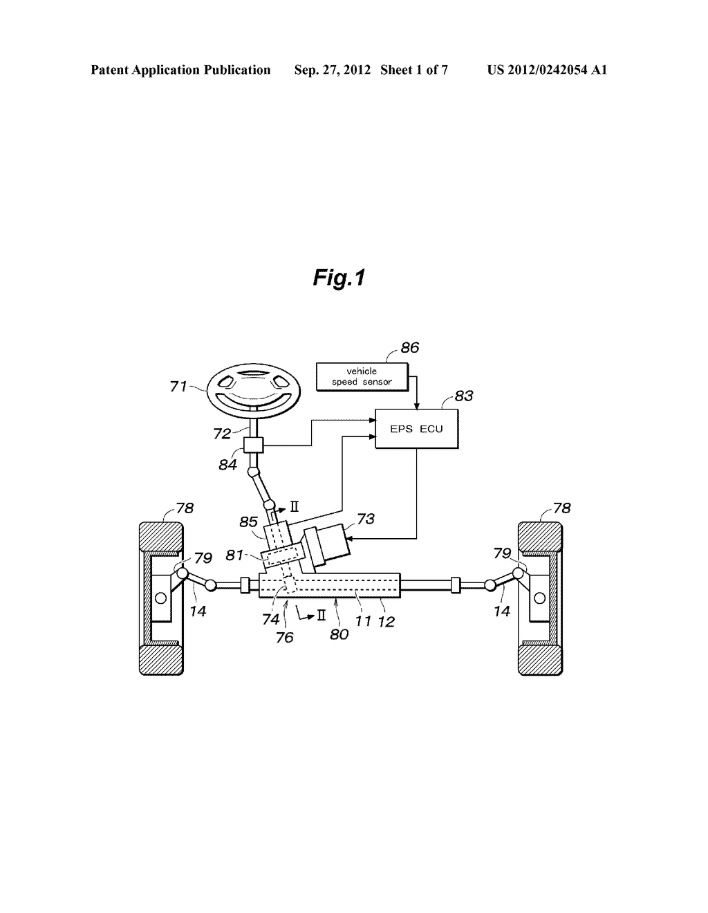 SHOCK ABSORBING DEVICE FOR RACK AND PINION TYPE STEERING MECHANISM - diagram, schematic, and image 02