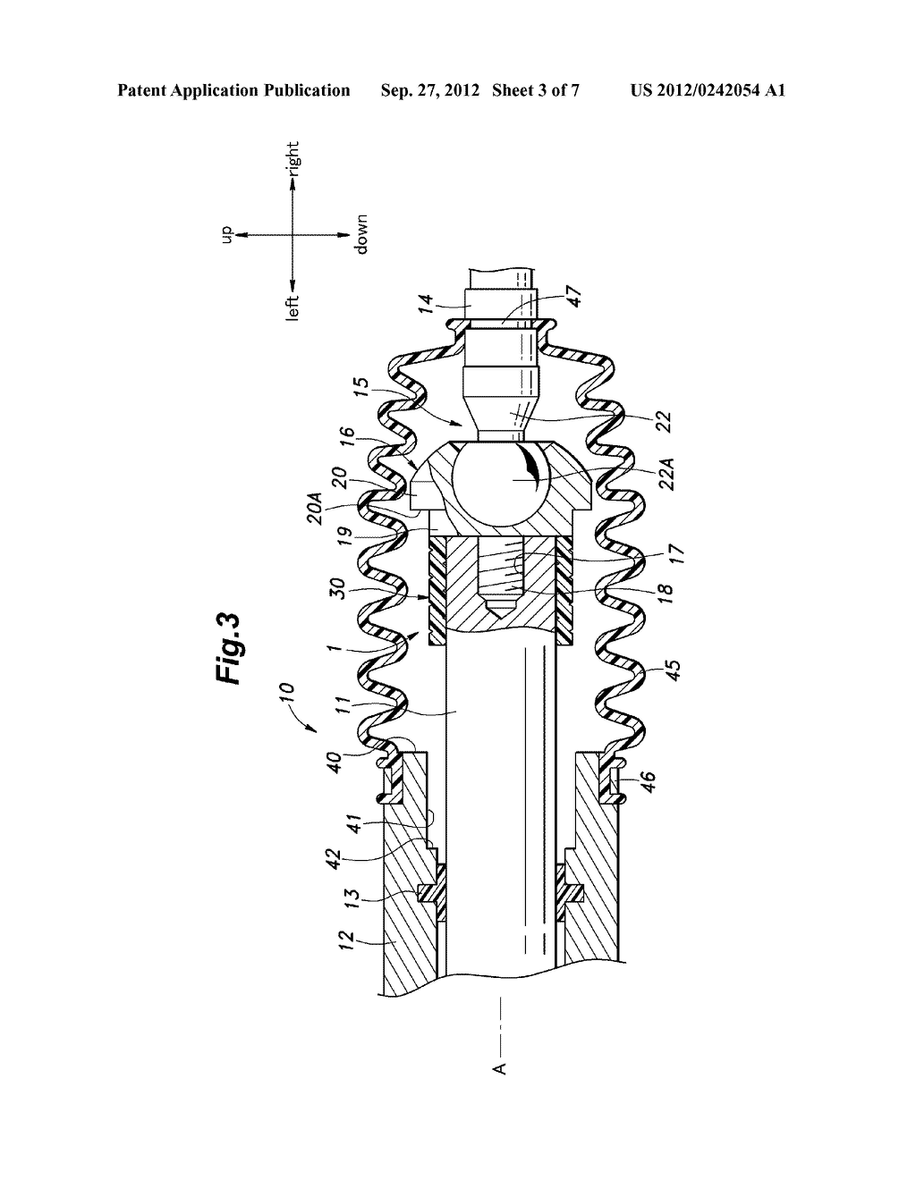 SHOCK ABSORBING DEVICE FOR RACK AND PINION TYPE STEERING MECHANISM - diagram, schematic, and image 04