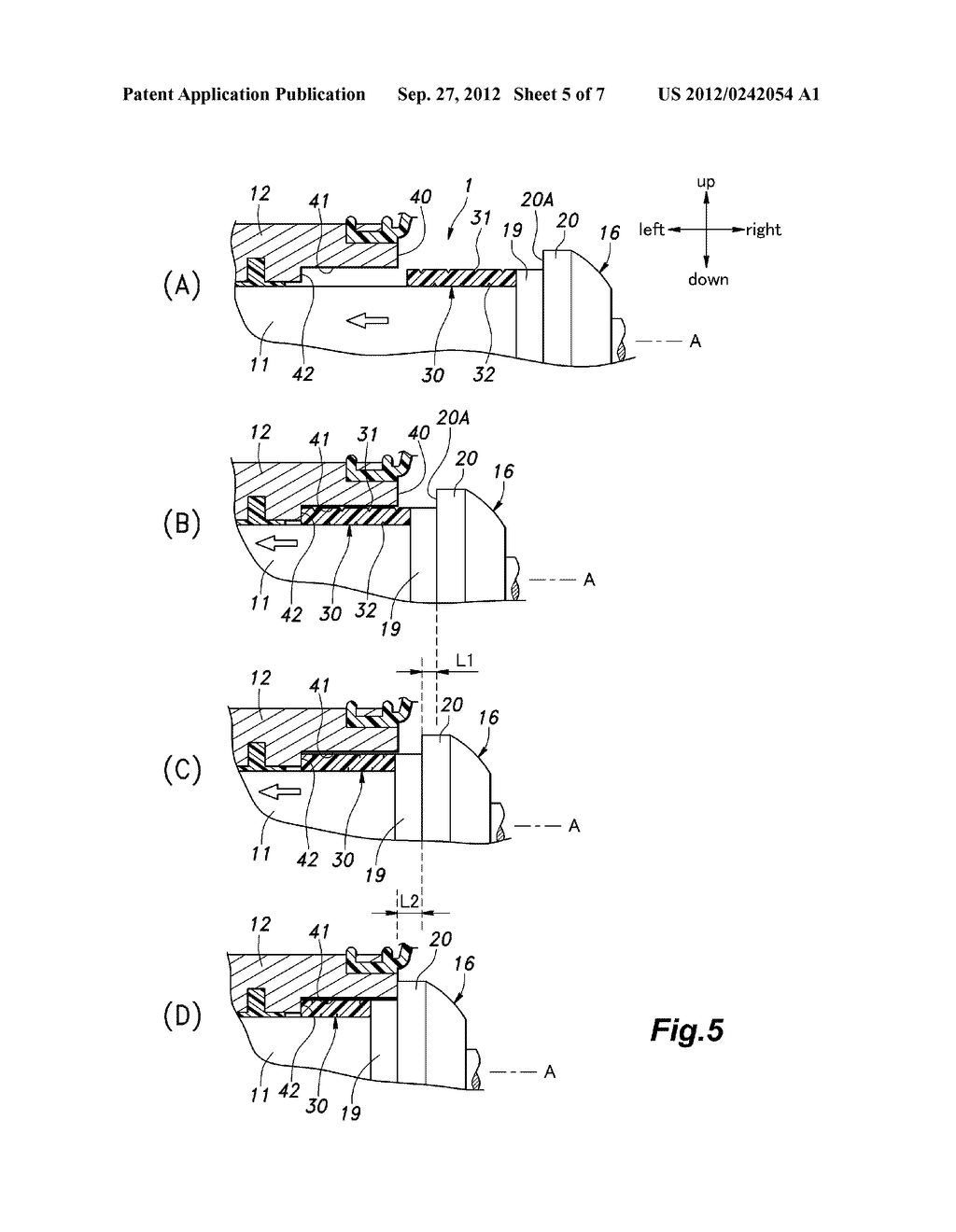 SHOCK ABSORBING DEVICE FOR RACK AND PINION TYPE STEERING MECHANISM - diagram, schematic, and image 06