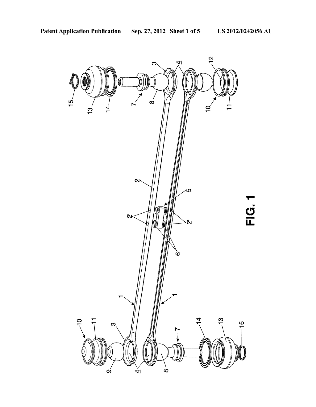 STABILIZER LINK FOR A VEHICLE SUSPENSION AND METHOD FOR OBTAINING IT - diagram, schematic, and image 02