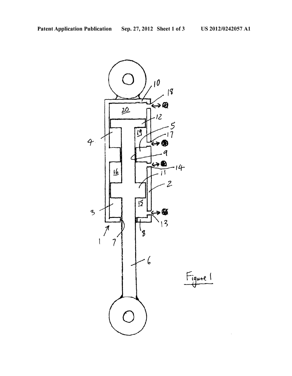 VEHICLE WITH HYDRAULICALLY INTERCONNECTED DAMPERS - diagram, schematic, and image 02
