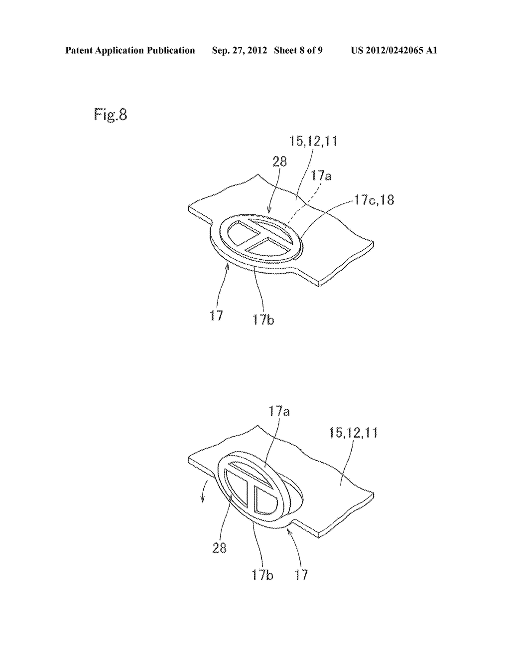 AIRBAG COVER - diagram, schematic, and image 09