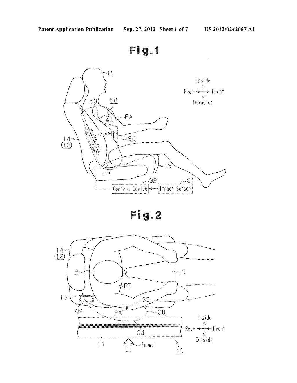 SIDE AIRBAG APPARATUS - diagram, schematic, and image 02