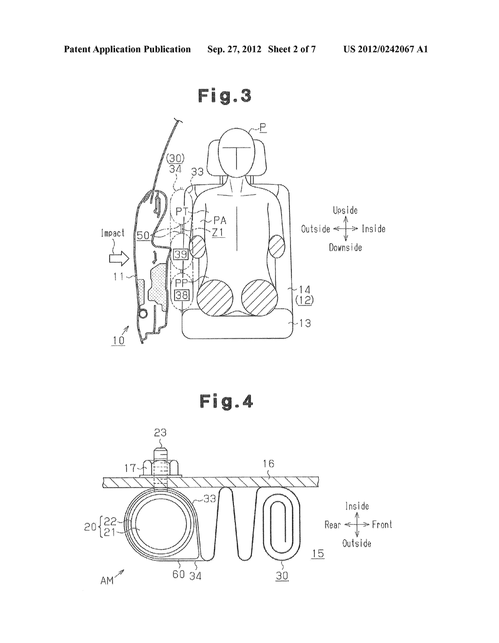 SIDE AIRBAG APPARATUS - diagram, schematic, and image 03