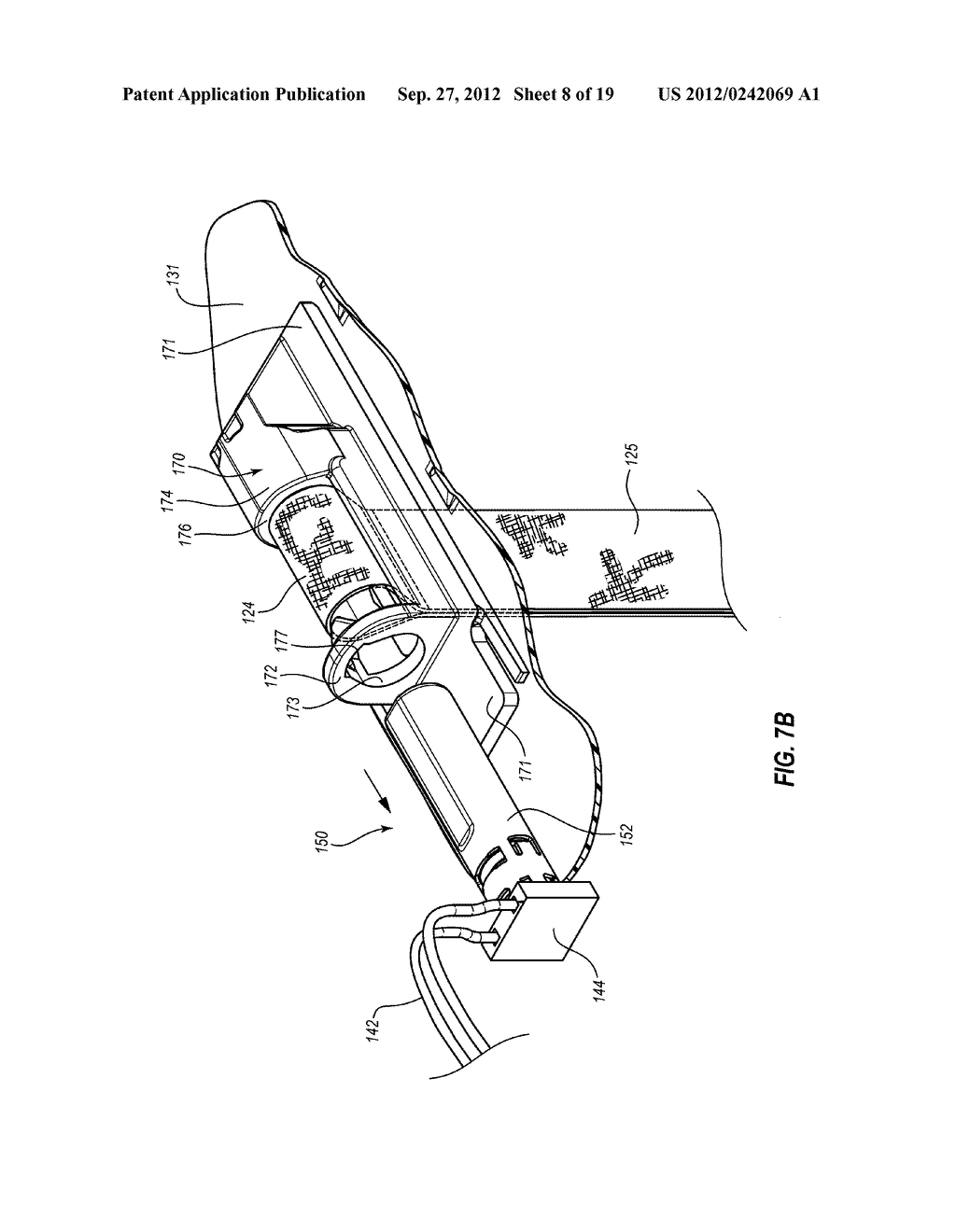 PYROTECHNIC TETHER RELEASE ASSEMBLY WITH A BREAK-AWAY PISTON FOR     INFLATABLE AIRBAGS - diagram, schematic, and image 09