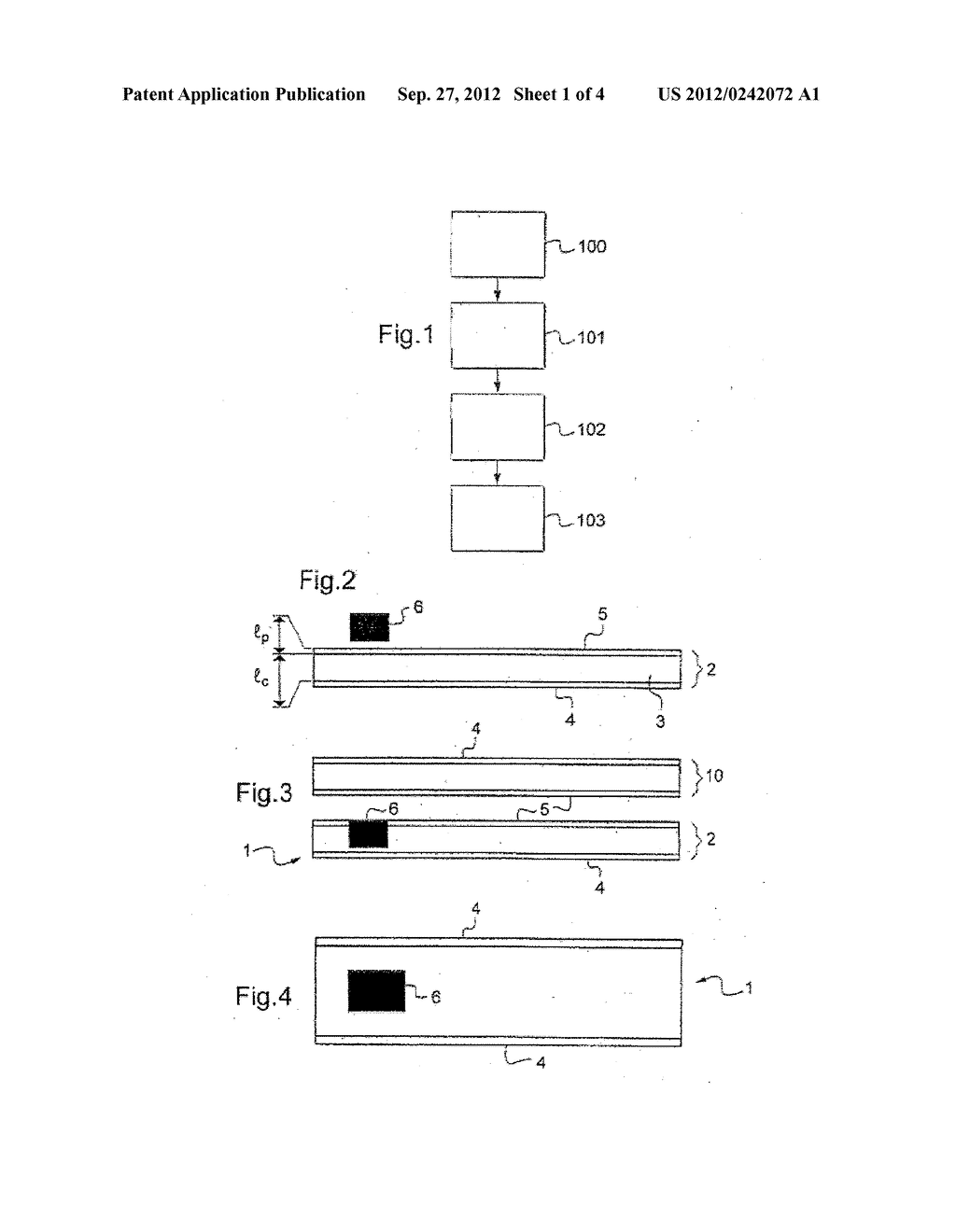 METHOD FOR PRODUCING A SUPPORT COMPRISING AN ELECTRONIC DEVICE - diagram, schematic, and image 02