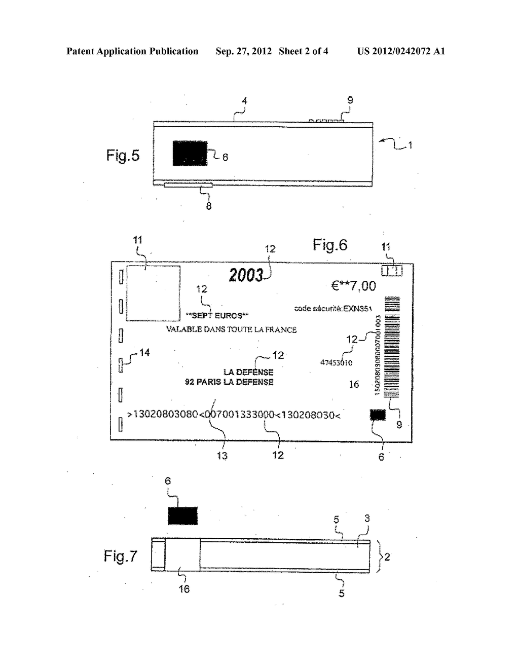 METHOD FOR PRODUCING A SUPPORT COMPRISING AN ELECTRONIC DEVICE - diagram, schematic, and image 03