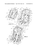 INFANT HOLDER FOR VEHICLE SEAT diagram and image