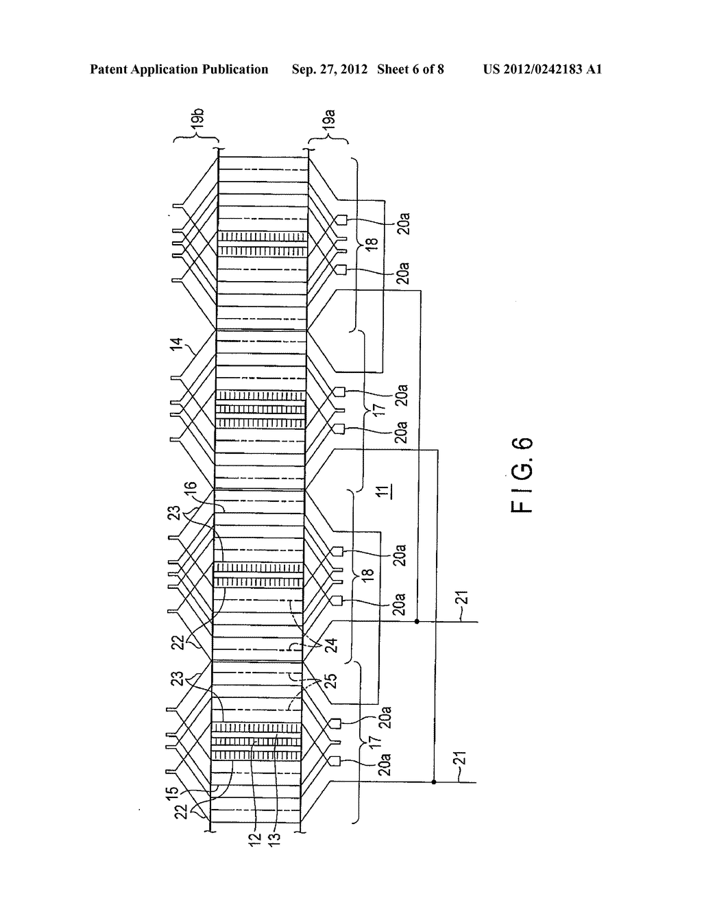 armature winding of rotating electrical machine - diagram, schematic, and  image 07