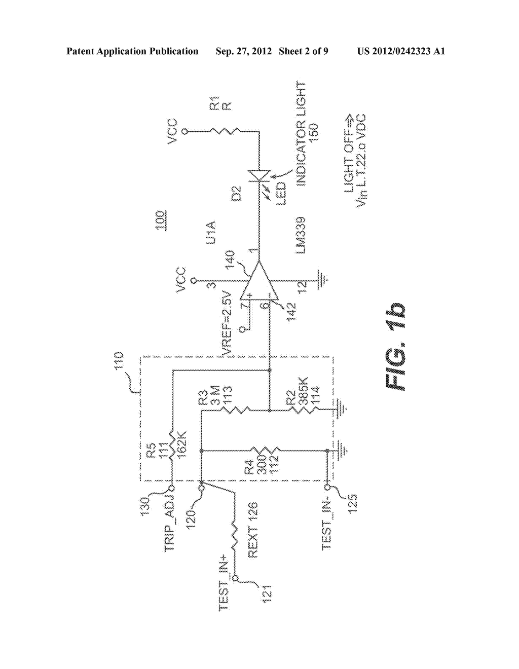 Method and System for a Digital Voltage Detector with Digital Voltage     Display - diagram, schematic, and image 03