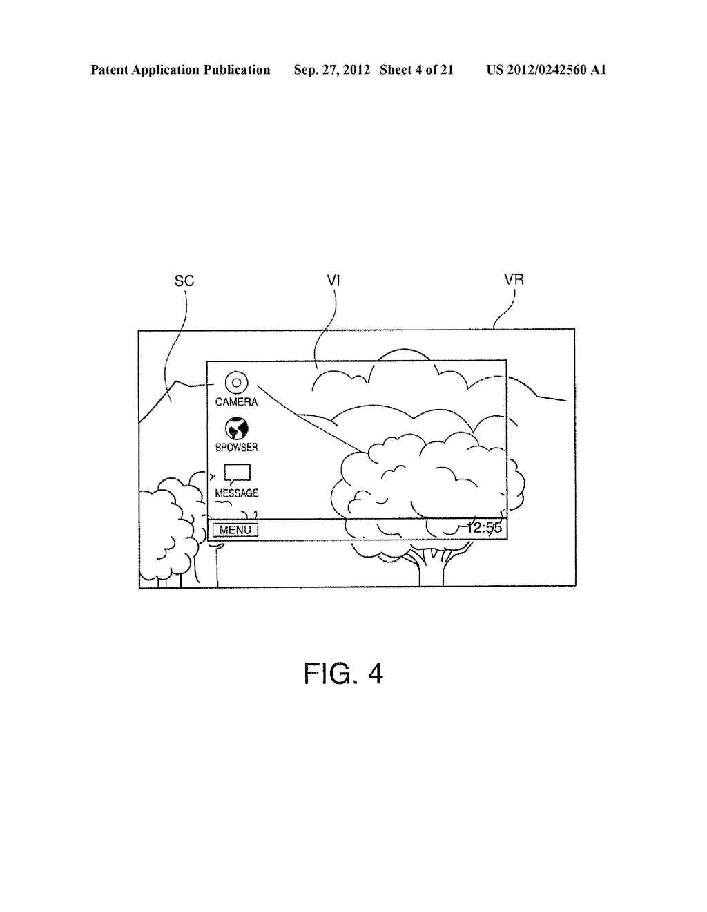 HEAD-MOUNTED DISPLAY DEVICE AND CONTROL METHOD FOR THE HEAD-MOUNTED     DISPLAY DEVICE - diagram, schematic, and image 05