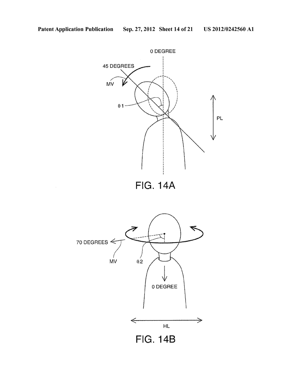 HEAD-MOUNTED DISPLAY DEVICE AND CONTROL METHOD FOR THE HEAD-MOUNTED     DISPLAY DEVICE - diagram, schematic, and image 15