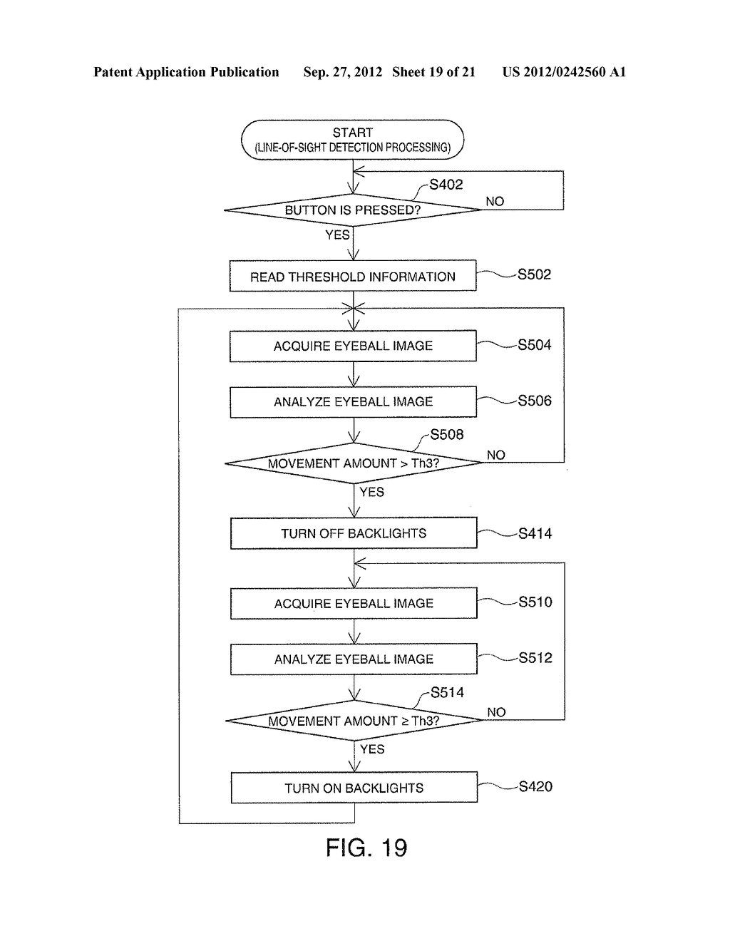 HEAD-MOUNTED DISPLAY DEVICE AND CONTROL METHOD FOR THE HEAD-MOUNTED     DISPLAY DEVICE - diagram, schematic, and image 20
