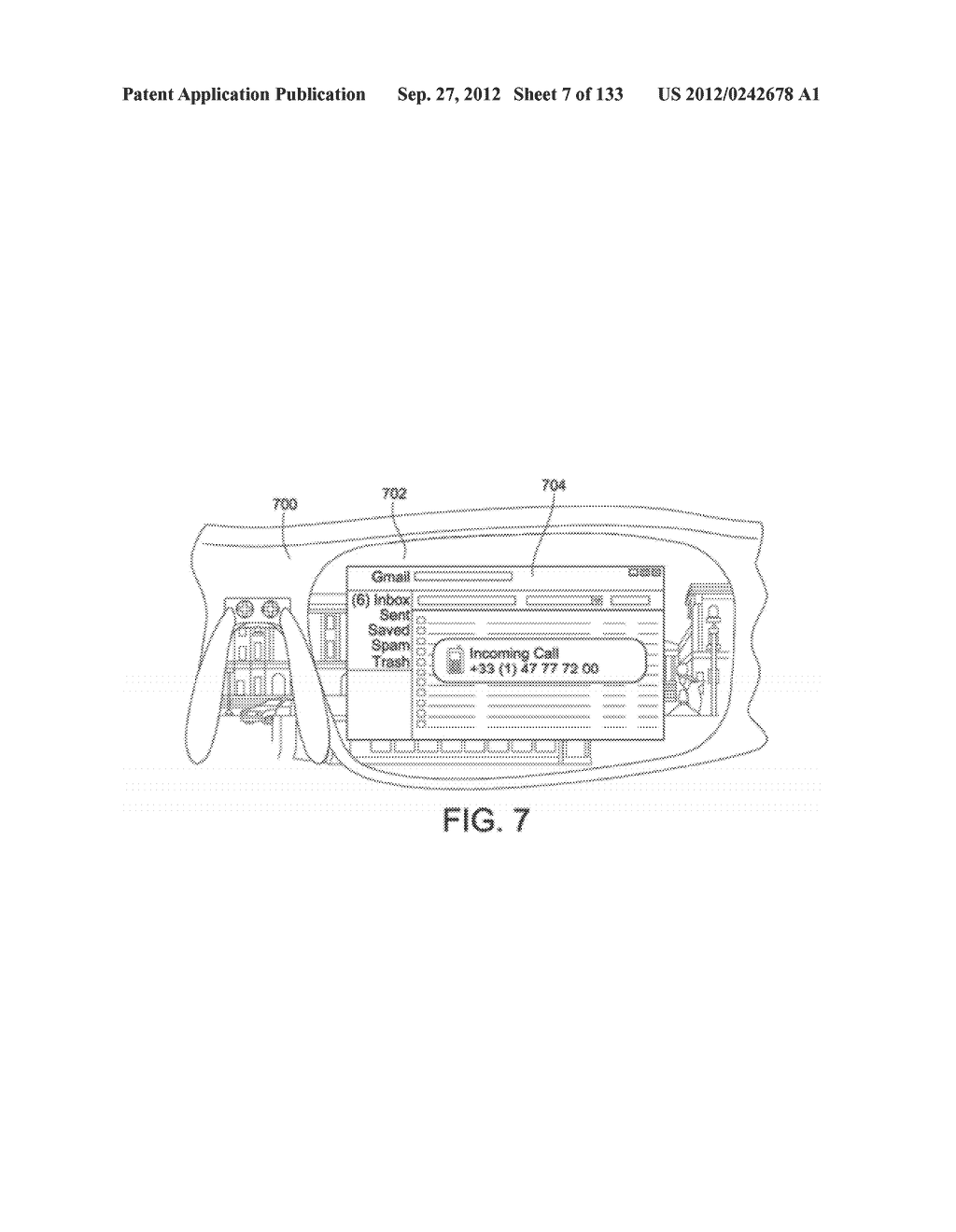 SEE-THROUGH NEAR-EYE DISPLAY GLASSES INCLUDING AN AUTO-BRIGHTNESS CONTROL     FOR THE DISPLAY BRIGHTNESS BASED ON THE BRIGHTNESS IN THE ENVIRONMENT - diagram, schematic, and image 08