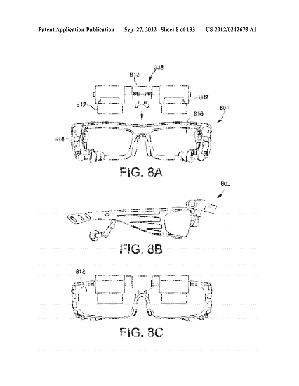 SEE-THROUGH NEAR-EYE DISPLAY GLASSES INCLUDING AN AUTO-BRIGHTNESS CONTROL     FOR THE DISPLAY BRIGHTNESS BASED ON THE BRIGHTNESS IN THE ENVIRONMENT - diagram, schematic, and image 09