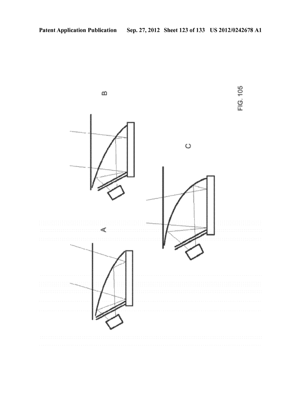 SEE-THROUGH NEAR-EYE DISPLAY GLASSES INCLUDING AN AUTO-BRIGHTNESS CONTROL     FOR THE DISPLAY BRIGHTNESS BASED ON THE BRIGHTNESS IN THE ENVIRONMENT - diagram, schematic, and image 124