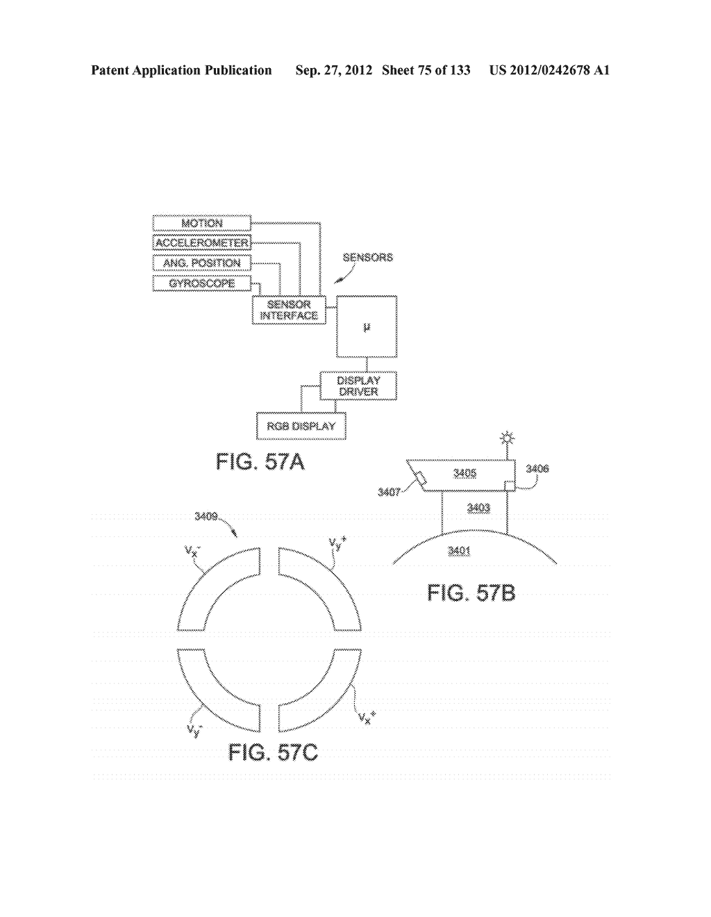 SEE-THROUGH NEAR-EYE DISPLAY GLASSES INCLUDING AN AUTO-BRIGHTNESS CONTROL     FOR THE DISPLAY BRIGHTNESS BASED ON THE BRIGHTNESS IN THE ENVIRONMENT - diagram, schematic, and image 76