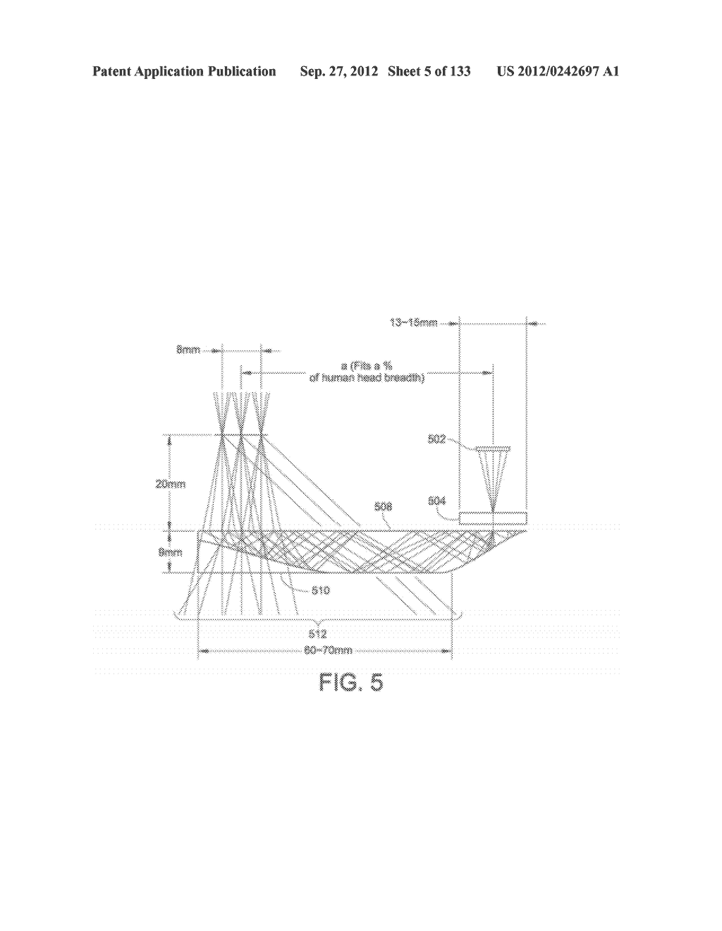 SEE-THROUGH NEAR-EYE DISPLAY GLASSES WITH THE OPTICAL ASSEMBLY INCLUDING     ABSORPTIVE POLARIZERS OR ANTI-REFLECTIVE COATINGS TO REDUCE STRAY LIGHT - diagram, schematic, and image 06