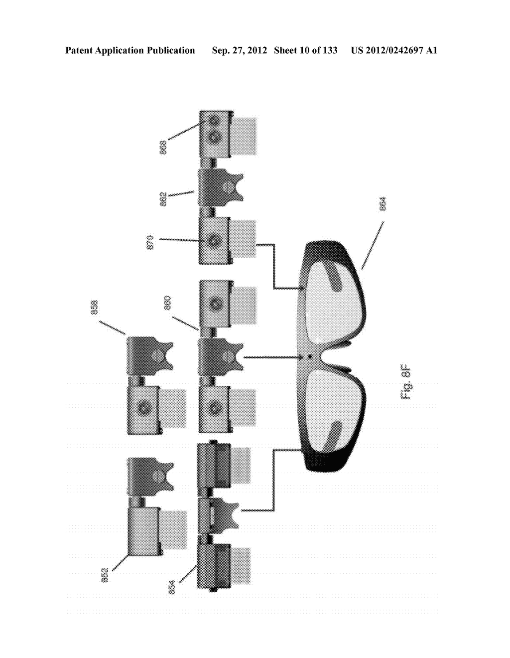 SEE-THROUGH NEAR-EYE DISPLAY GLASSES WITH THE OPTICAL ASSEMBLY INCLUDING     ABSORPTIVE POLARIZERS OR ANTI-REFLECTIVE COATINGS TO REDUCE STRAY LIGHT - diagram, schematic, and image 11