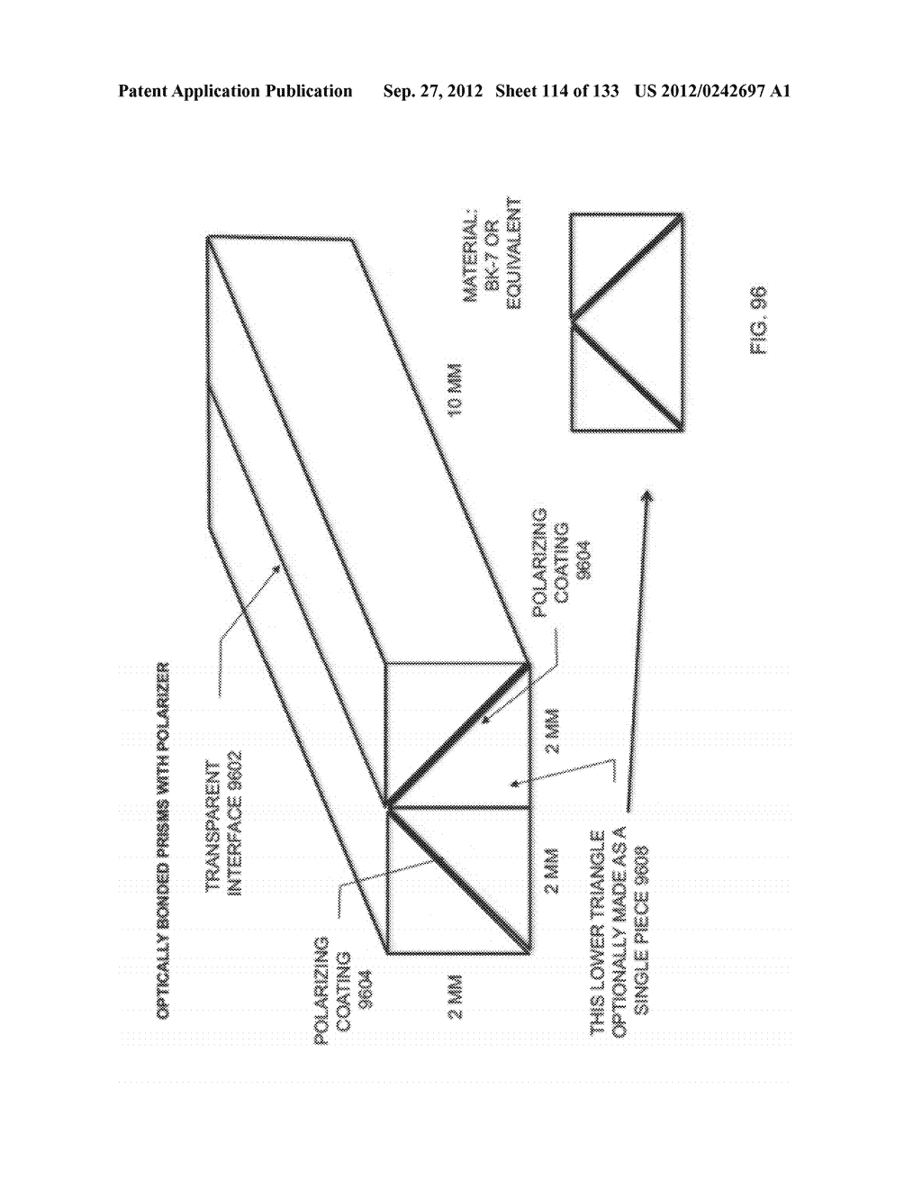 SEE-THROUGH NEAR-EYE DISPLAY GLASSES WITH THE OPTICAL ASSEMBLY INCLUDING     ABSORPTIVE POLARIZERS OR ANTI-REFLECTIVE COATINGS TO REDUCE STRAY LIGHT - diagram, schematic, and image 115