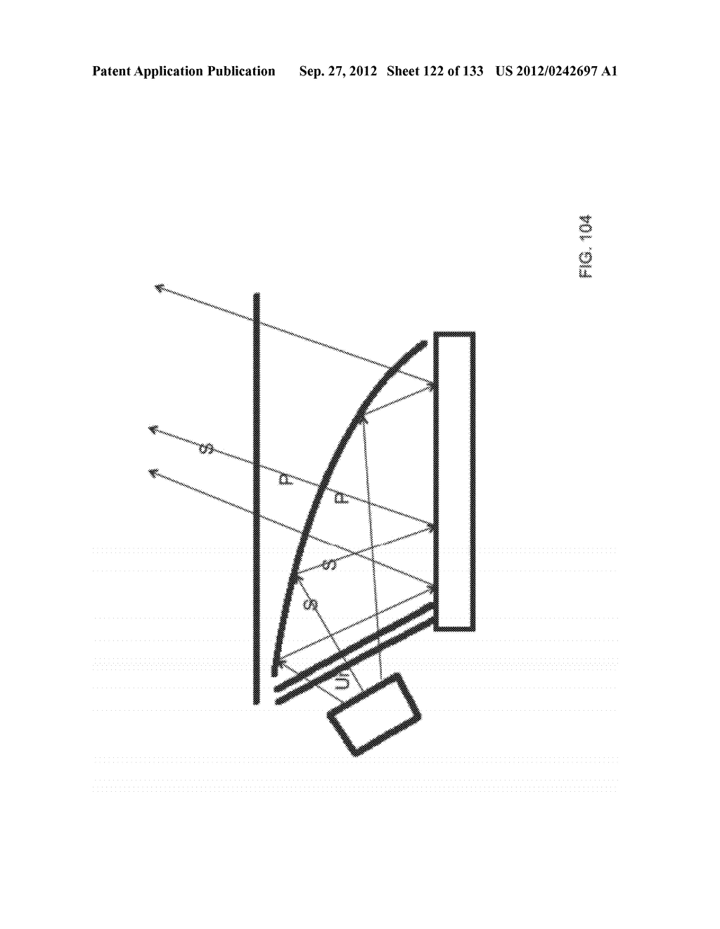 SEE-THROUGH NEAR-EYE DISPLAY GLASSES WITH THE OPTICAL ASSEMBLY INCLUDING     ABSORPTIVE POLARIZERS OR ANTI-REFLECTIVE COATINGS TO REDUCE STRAY LIGHT - diagram, schematic, and image 123