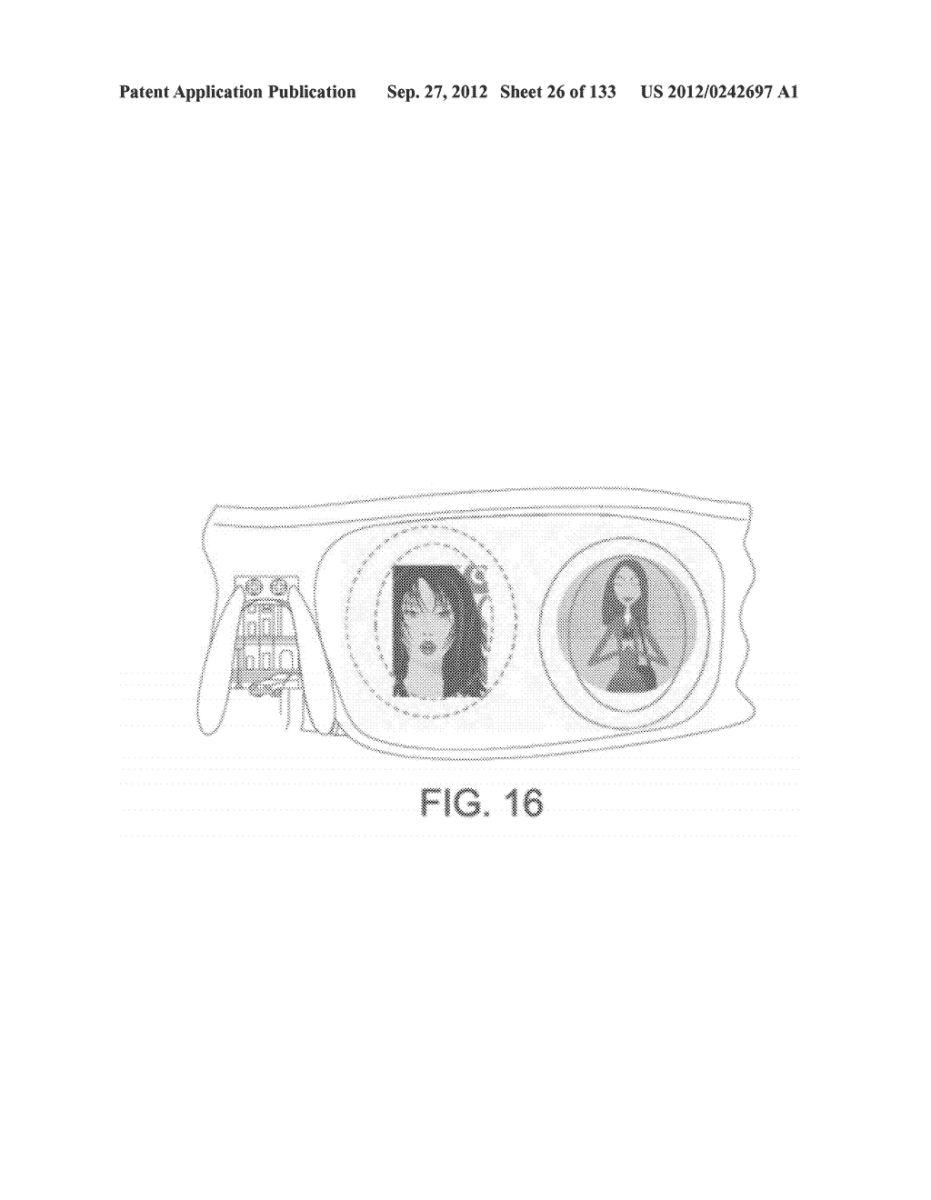 SEE-THROUGH NEAR-EYE DISPLAY GLASSES WITH THE OPTICAL ASSEMBLY INCLUDING     ABSORPTIVE POLARIZERS OR ANTI-REFLECTIVE COATINGS TO REDUCE STRAY LIGHT - diagram, schematic, and image 27