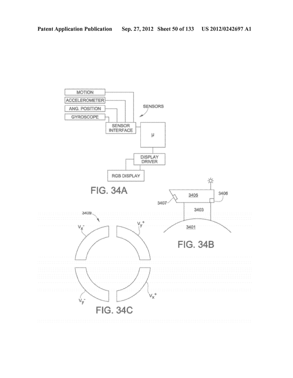 SEE-THROUGH NEAR-EYE DISPLAY GLASSES WITH THE OPTICAL ASSEMBLY INCLUDING     ABSORPTIVE POLARIZERS OR ANTI-REFLECTIVE COATINGS TO REDUCE STRAY LIGHT - diagram, schematic, and image 51